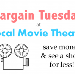 Save With Bargain Tuesdays at Local Movie Theaters