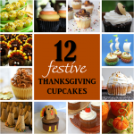 12 Festive Thanksgiving Cupcakes