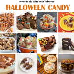 Recipes for Leftover Halloween Candy