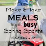 Make & Take Baseball Night Dinner Ideas