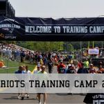 Patriots Training Camp 2016 - UPDATED