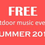 Free Summer Music Events on the South Shore