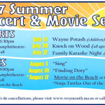 Weymouth Summer Concert & Movie Series