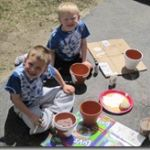 Mothers Day Craft Idea: Hand Print Flower Pots!