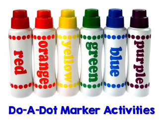 do a dot marker activities