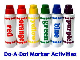 do a dot marker activities