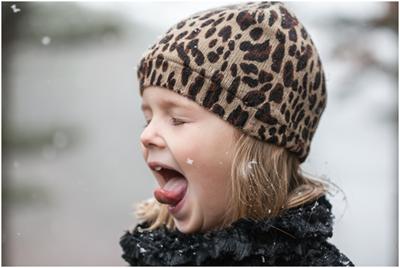 snowflake on tongue