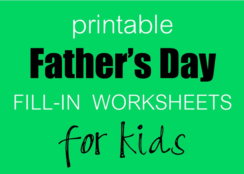 photograph regarding Father's Day Fill in the Blank Printable named Fathers Working day Fill-in just Printables South Shore Mamas