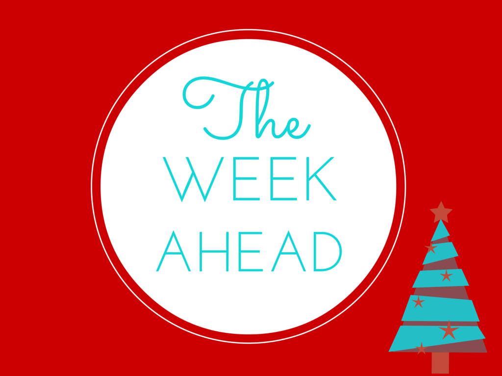 the week ahead holiday version