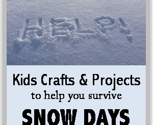 snow day crafts and projects 300