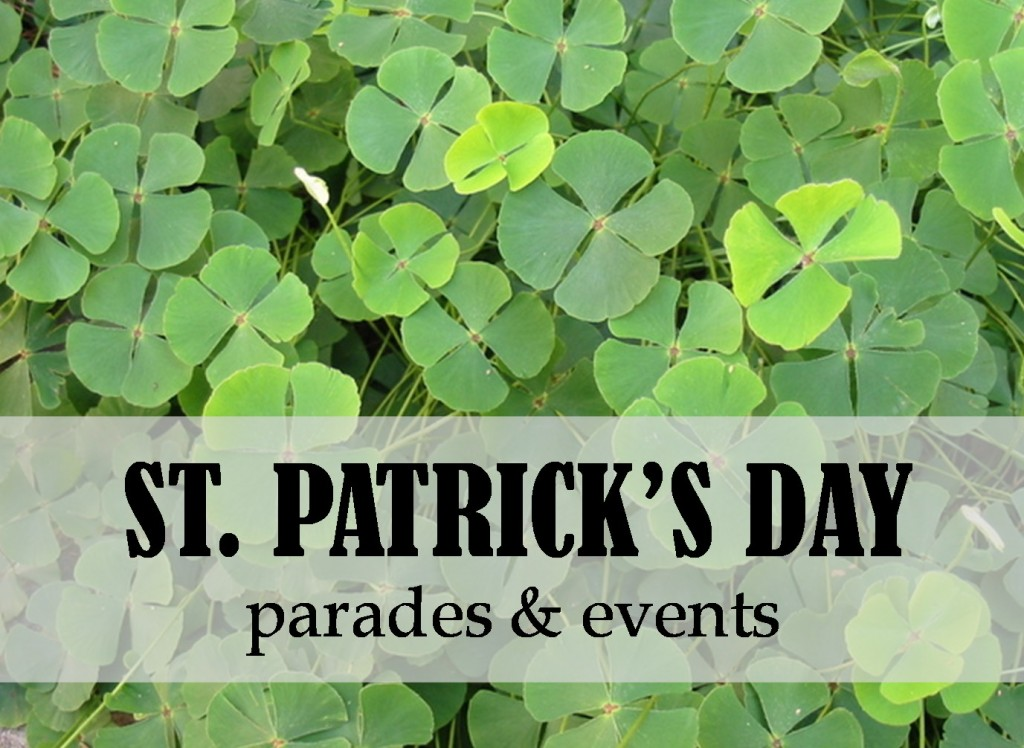 st patricks day parades and events