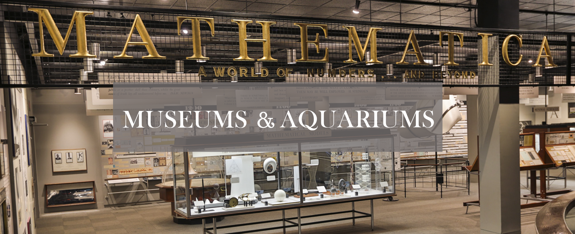 museums and aquariums title
