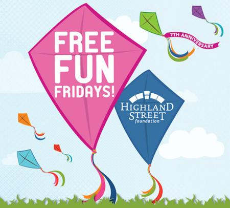 free fun fridays 2015
