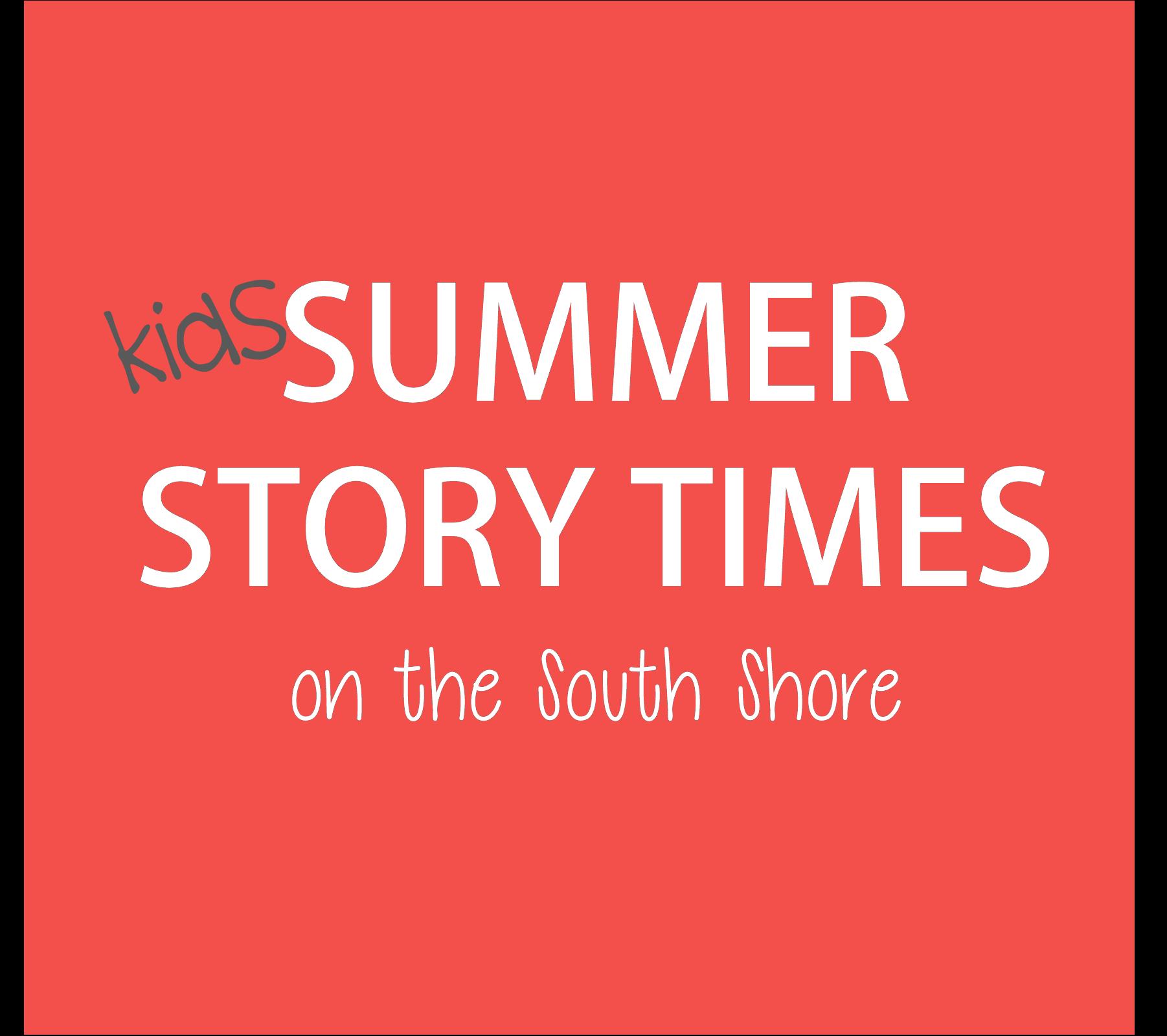 kids summer storytimes
