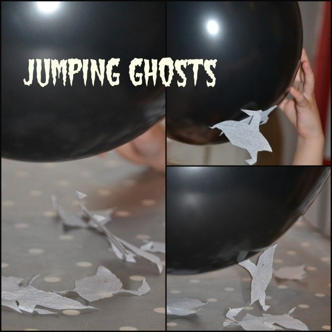 jumping ghosts