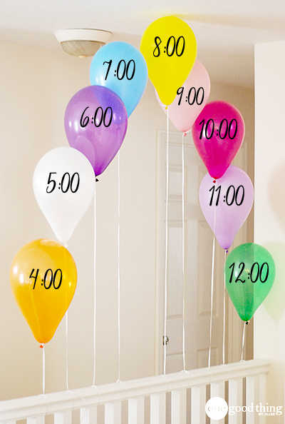countdown balloons