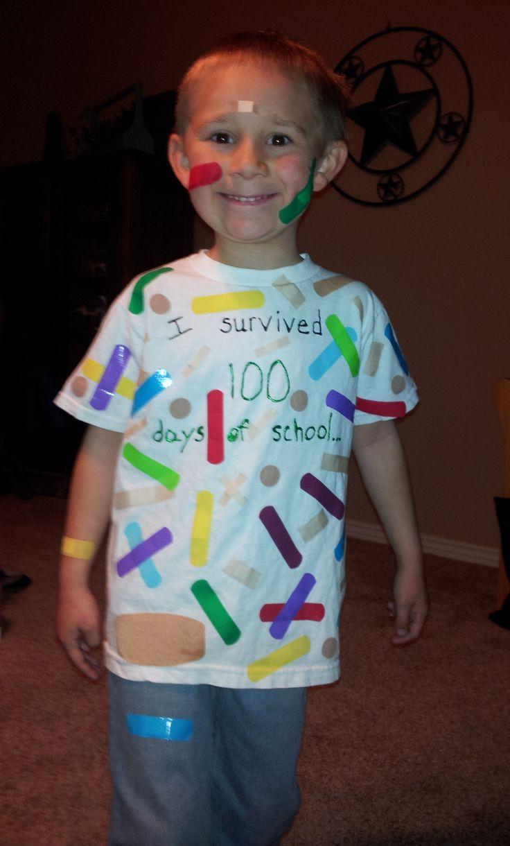 100th Day Of School Tee Shirt Ideas , Nils Stucki