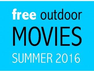 free outdoor movies summer 2016