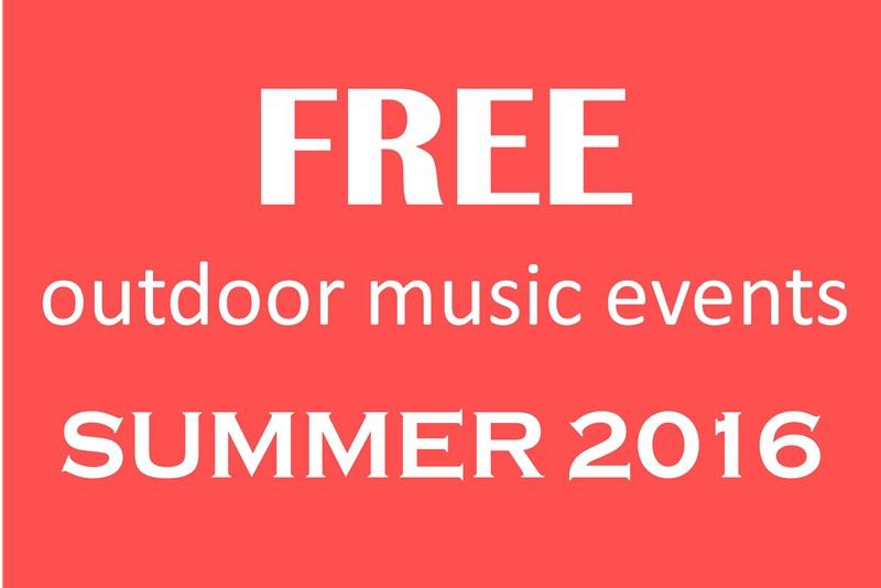 free summer music 2016