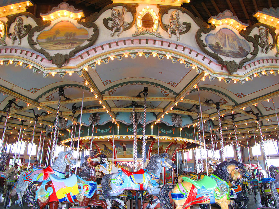 Free Summer Fun At Paragon Carousel South Shore Mamas