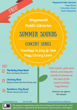 weymouth summer sounds