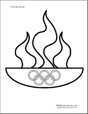 coloringpage_olympic_flame_p