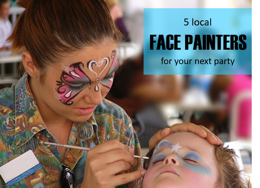 5 local face painters