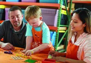 home depot kids workshop June 3