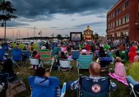 launch outdoor movies