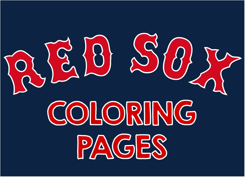Free Printable Red Sox Coloring Pages