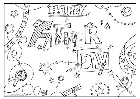 Free printable color sheets for father s day murderthestout world's best dad coloring pages coloring pages father's day cards Mother's Day Coloring Pages