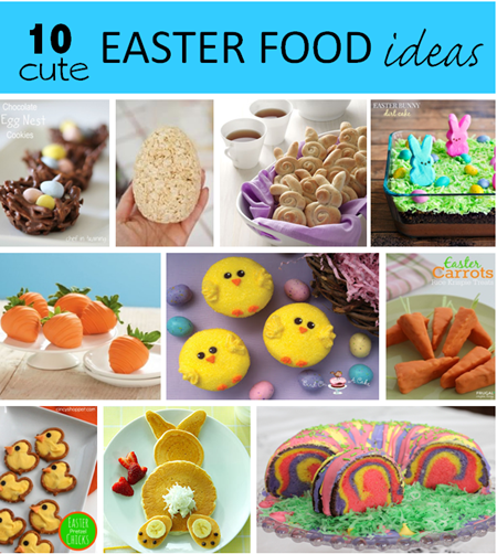 10 Cute Easter Food Ideas